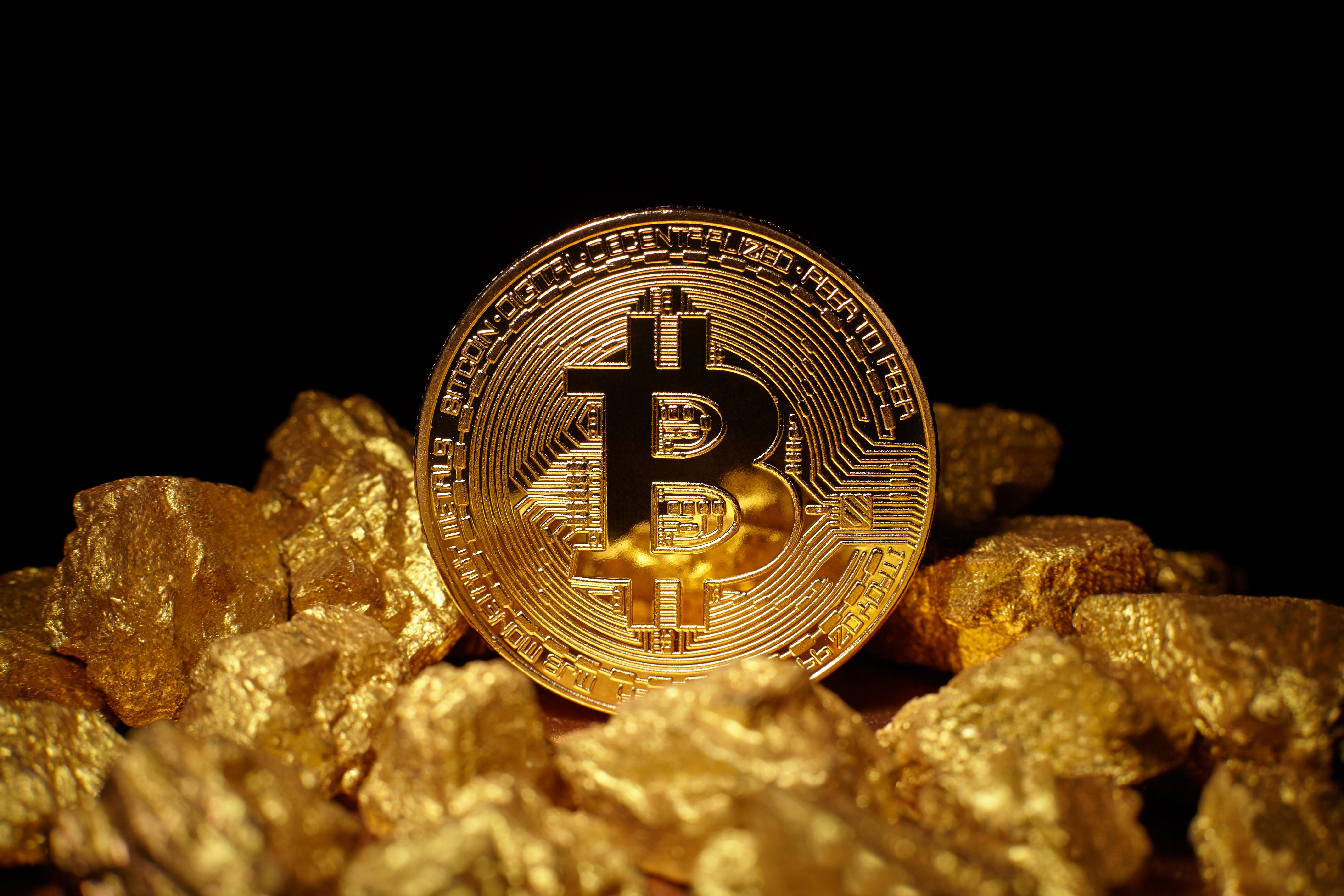 Gold Under Pressure; Bitcoin Near $9000 Handle